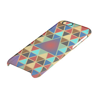 Pretty Triangle pattern III + your ideas Clear iPhone 6/6S Case