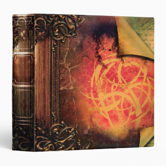 Pretty Tribal Fantasy Ancient Tome Magic Book Binder
