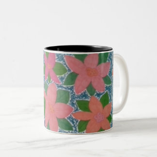 Pretty Tropical Flowers Mug