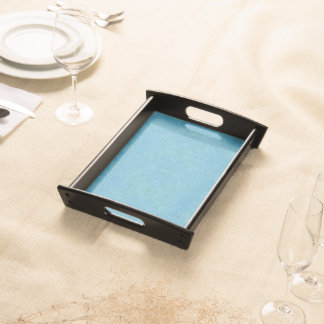 Pretty Turquoise Chic Entertaining Tray Serving Platter