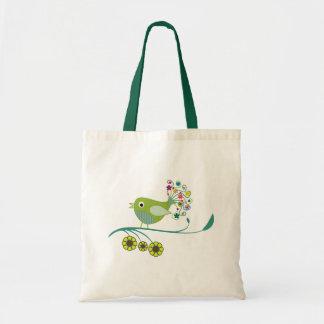 Pretty Tweet Whimsical Bird Bag