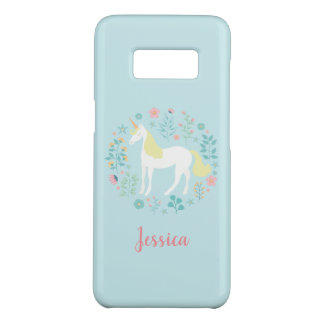 Pretty Unicorn Garden Personalized Case-Mate Samsung Galaxy S8 Case