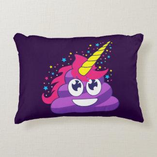 Pretty Unicorn Poop Decorative Pillow