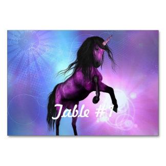 Pretty Unicorn Table Cards