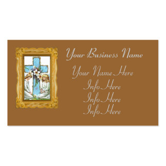 Pretty Vintage Angels Business Card Templates