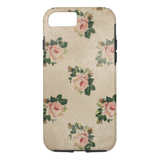 Pretty Vintage Floral Rose Art Pattern Accessories iPhone 7 Case