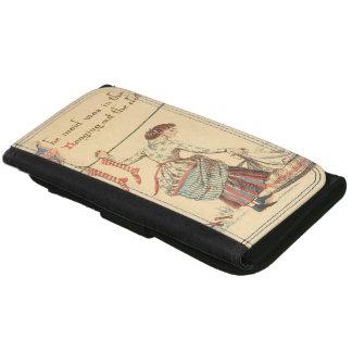 Pretty Vintage Lady Wallet
