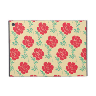 Pretty Vintage Red Flowers iPad Mini Cases