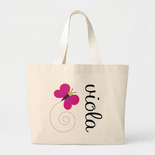 Pretty Viola Tote Bag