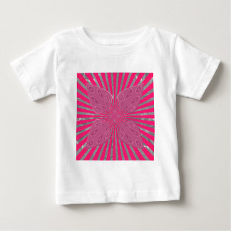 Pretty Vivid Pink Beautiful amazing edgy cool art Baby T-Shirt