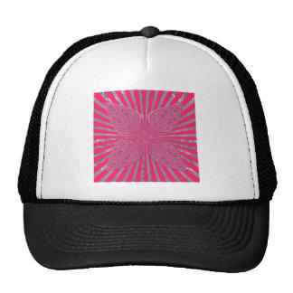 Pretty Vivid Pink Beautiful amazing edgy cool art Trucker Hat