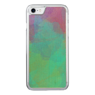Pretty Watercolor Image Abstract Art Carved iPhone 8/7 Case