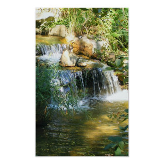 Pretty Waterfall Posters