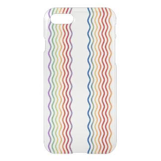 Pretty Waves colored + your backgr., text & ideas iPhone 7 Case
