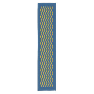 Pretty Waves gold + your background & ideas Short Table Runner