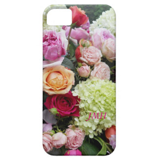 Pretty Wedding Bouquet of Flowers Optional Name iPhone 5 Covers