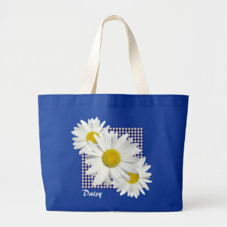 Pretty White Daisies Tote