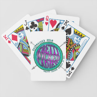 Pretty Wicked Ladies Compass Bicycle Playing Cards