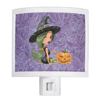 PRETTY WITCH NIGHT LIGHT