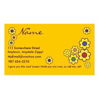 Pretty Witty Lesbian Business Card