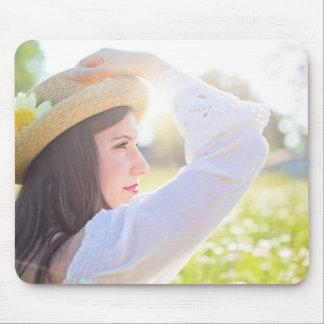 pretty-woman mouse pad