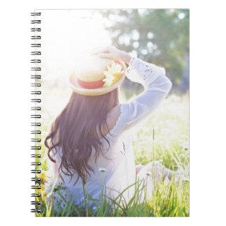 pretty-woman spiral notebook