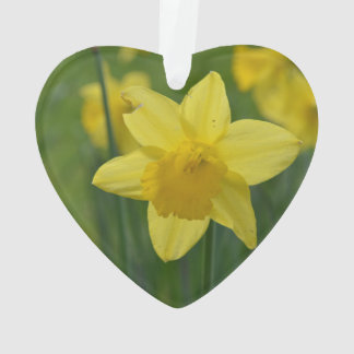 Pretty Yellow Daffodil Ornament