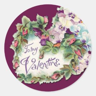 Prety Pansies Sticker