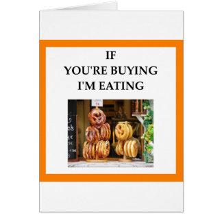 pretzel card