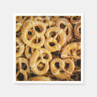 Pretzel Land Oktoberfest Party Paper Napkins