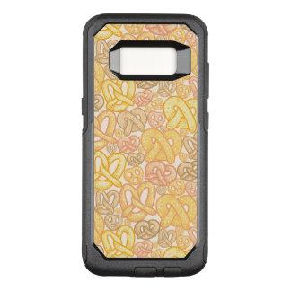 Pretzel Pattern OtterBox Commuter Samsung Galaxy S8 Case