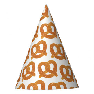 Pretzel Pattern Party Hat