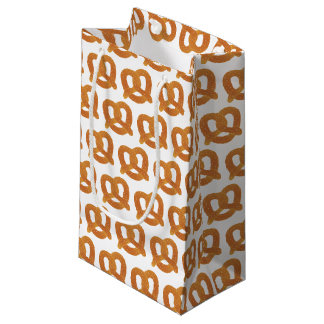 Pretzel Pattern Small Gift Bag