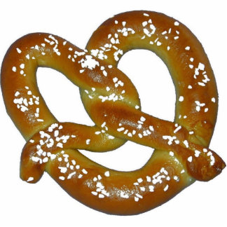Pretzel photo sculpture