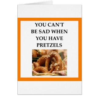PRETZELS CARD