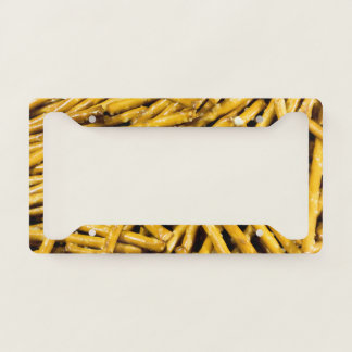 Pretzels Sticks License Plate Frame