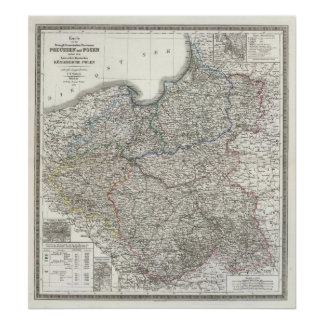 Preussen, Posen, Polen Poster