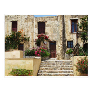Preveli Monastery Crete Greece Postcard