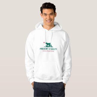 Prevent Cruelty CA Hoodie- White (Custom) Hoodie