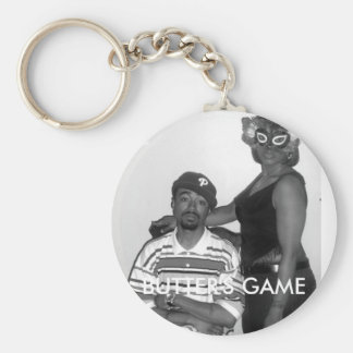 PREVIEW BOOK COVER, BUTTER'S GAME BASIC ROUND BUTTON KEYCHAIN
