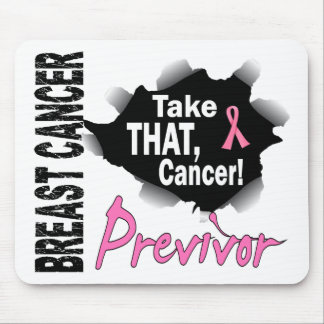 Previvor 7 Breast Cancer Mouse Pad