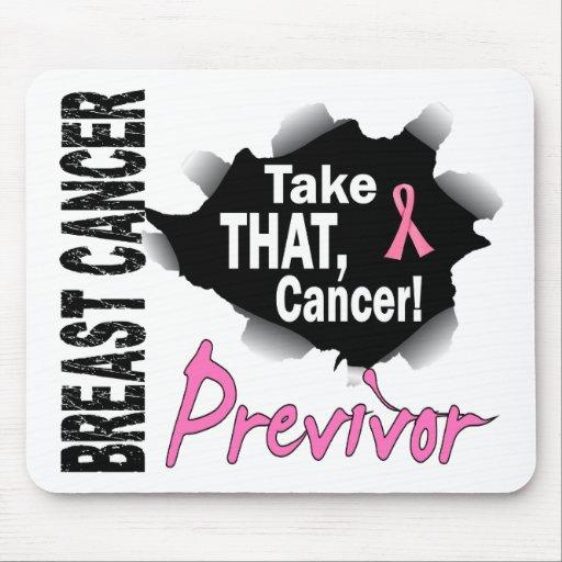 Previvor 7 Breast Cancer Mousepad