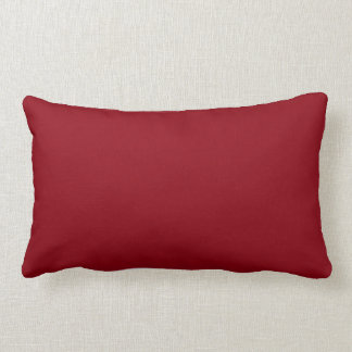 Preying On Time [Less Teeth] Red Lumbar Cushion