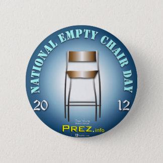 PREZ.info - Empty Chair 3 2 Inch Round Button