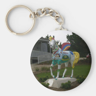 Priate Winged Horse Keychain