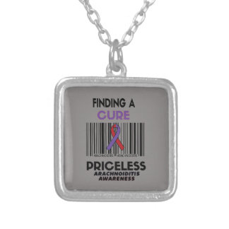 Priceless...Arachnoiditis Silver Plated Necklace