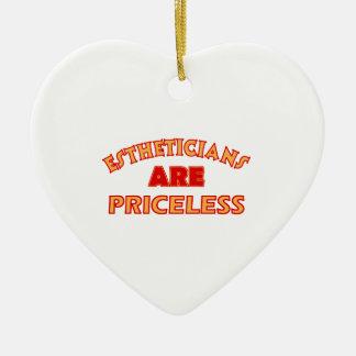 PRICELESS Esthetician designs Ceramic Ornament
