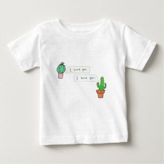 Prickly Cactus Love Baby T-Shirt