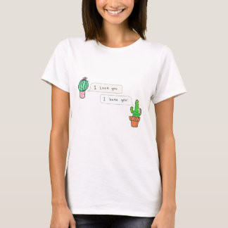 Prickly Cactus Love T-Shirt