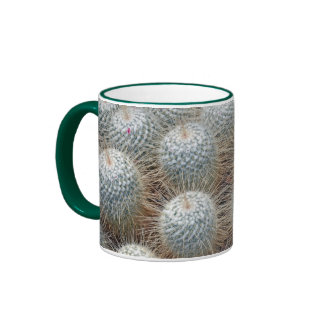 Prickly cactus plants coffee mug
